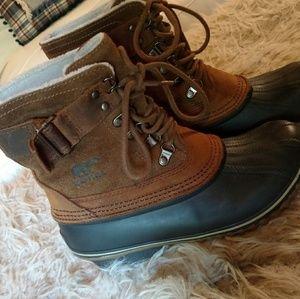 Sorel duck boots..